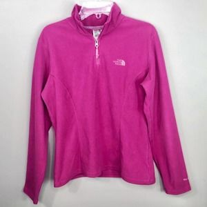 The North Face Pink Fleece Pull-Over Fleece
